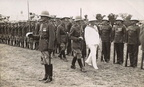 Governor Sir Herbert Stanley s inspection - Town Police on right  District Police to the left   Date unknown  late 30 s earl