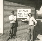 BSAP CID Ron with Andy Field - ic s Housebreaking and Storebreking at Southerton    1974