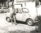 Ron - BSAP CID - Police  Noddy  car - Renault 4 Southerton 1974