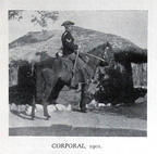 1901 B.S.A. Police Corporal (Note short rifle bucket)
