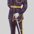 "Officer in ""Patrols"" a ceremonial and parade uniform for Assistant Commissioners and above."