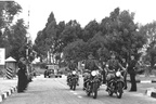 VIP Motor Cycle Escort New Sarum 1959 - From an ORAFs Newsletter