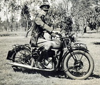 4382 Jim Paine on BSA M20 in 1950