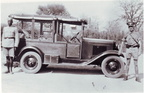 3221 Sgt Gerald Pierrpoint Lawrence and Chevrolet in 1935