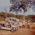 Andora Harbour, Kariba waiting to go on Patrol.1966