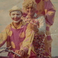 Pete Harris, Clive Shelley, clowns Police Display 1968